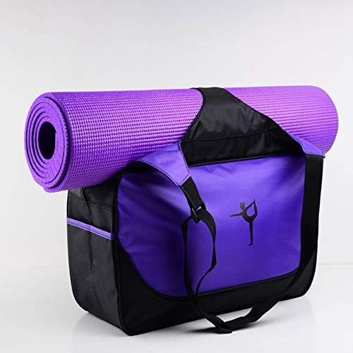 SIMEISM Mochila unisex de 48 x 24 x 16 cm de alta capacidad para yoga, impermeable, bolsa de yoga, bolsa de deporte (sin esterilla de yoga)
