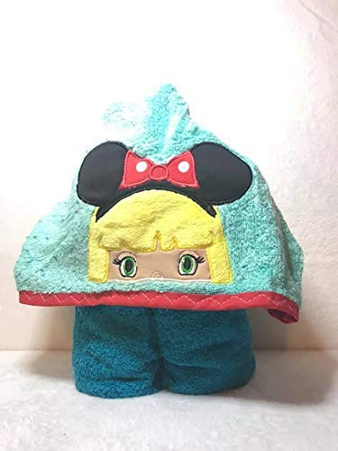 Limited time trial price Girl Mouse Fan Ranking TOP19 Hooded Bath Child Towel Baby Teen