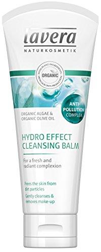 lavera Hydro-Effekt Reinigungsbalsam - Bio Algen & Bio Olivenöl - Für einen frischen & strahlenden Teint - Vegan Bio Hautpflege Natur- & Innovative Kosmetik 100ml