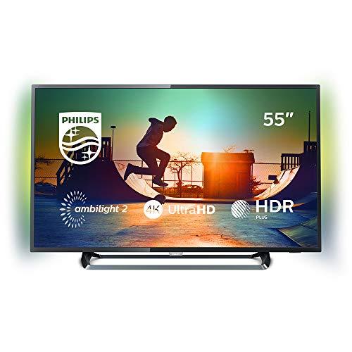 """Philips 6000 series Téléviseur LED Smart TV ultra-plat 4K 55PUS6262/12 écran LED - écrans LED (139,7 cm (55""""), 3840 x 2160 pixels, 350 cd/m², 16:9, 139 cm, 16 W)"""