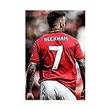David Beckham Sportposter, Leinwand-Kunst-Poster und