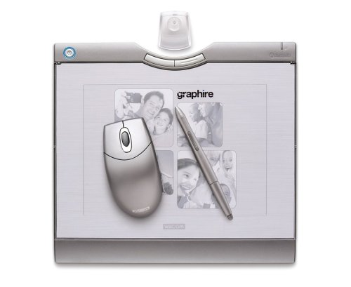 Wacom Graphire Bluetooth 6 x 8-Inch Tablet