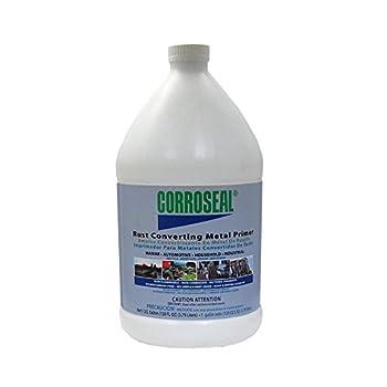 Corroseal Water-Based Rust Converter Metal Primer Rust Converter - 1 Gal,82331