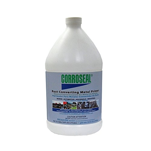 Corroseal Water-Based Rust Converter Metal Primer, Rust Converter - 1 Gal,82331