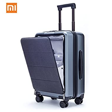Xiaomi Carry On Luggage 20  Front Pocket Spinner Business Double TSA Locks No Key Cabin Size Premium PC 90FUN