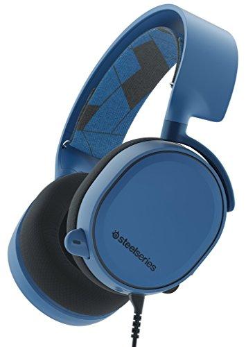 SteelSeries Arctis 3 (Edición Legado) - Auriculares para Juego, PC, Mac, Playstation 4, Xbox One, Nintendo Switch, Móvil, VR, Color Azul