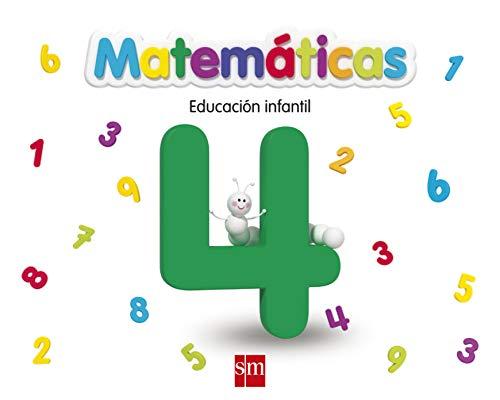 Matemáticas 4. Educación Infantil - 9788467551839