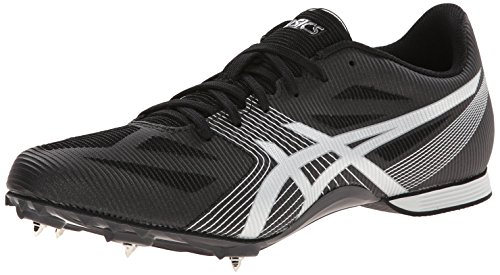 ASICS Men's Hyper MD 6 Track And Field Shoe,Onyx/Silver,11.5 M US