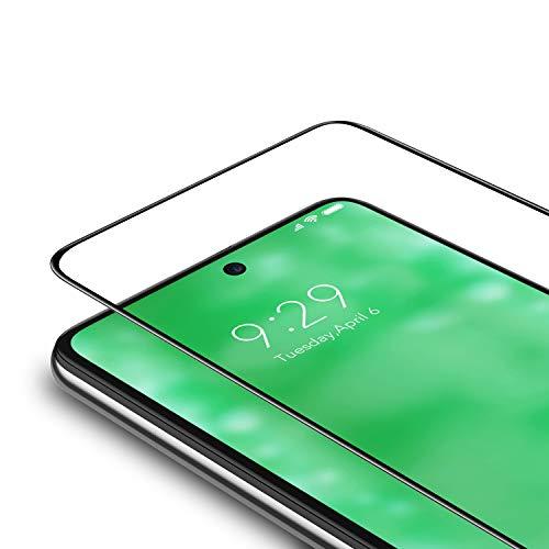 Bewahly Panzerglas Schutzfolie für Xiaomi Redmi Note 9 [2 Stück], 9H Festigkeit Panzerglasfolie Ultra Dünn Bildschirmschutzfolie Vollständige Abdeckung Glas Folie für Xiaomi Redmi Note 9 - Schwarz