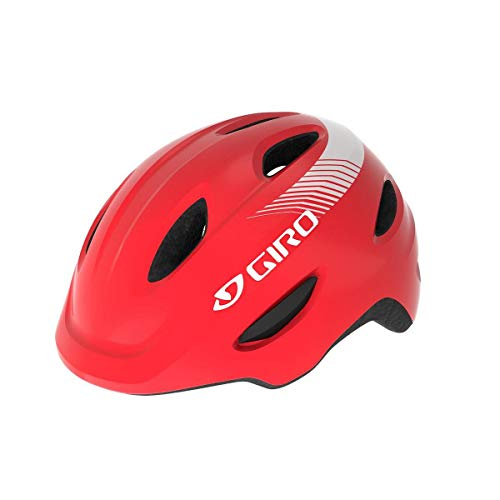 Giro Unisex Jugend Scamp MIPS Fahrradhelm Youth, Bright red, XS | 45-49cm
