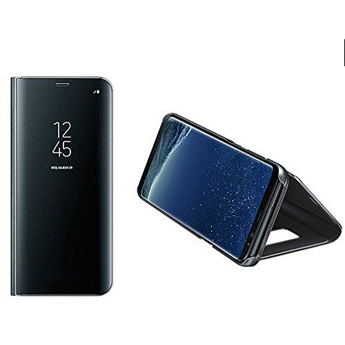 Aursen Custodia Samsung S8 Plus Cover a Specchio Samsung Galaxy S8 Plus Ideale per porteggere Telefono - Nero