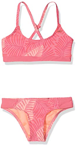 O'Neill Mädchen PG Sport Bikini Set, Pink All Over Print, 176
