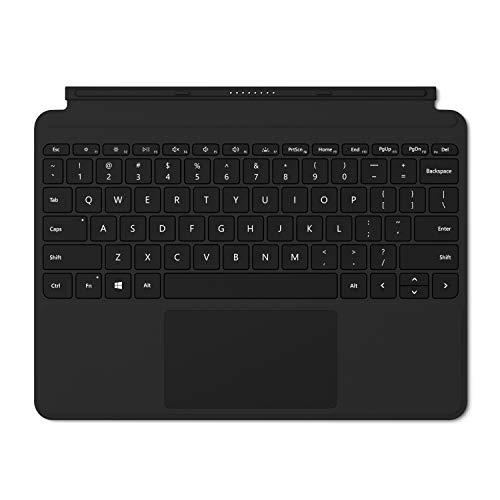Microsoft Signature Type Cover - Funda con teclado para Surface Go, Negro - Teclado QWERTY Español