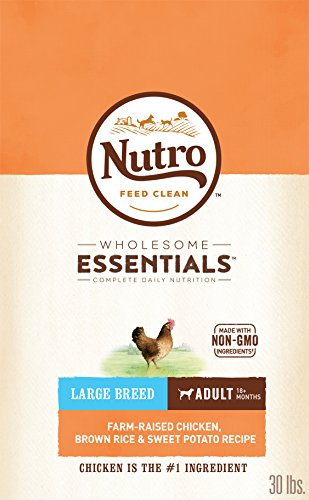 NUTRO WHOLESOME ESSENTIALS Natural Adult Large Breed Dry Dog Food...