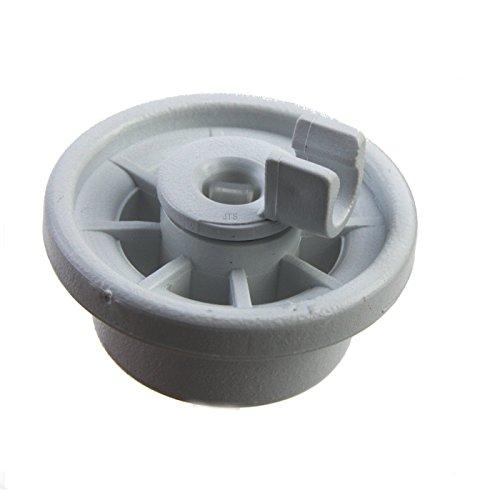 1 Stück Korbrollen Rollen Ersatz für Diverse Spülmaschine von Bosch, Siemens, Constructa, Neff etc. - Teile-Nr. 00165314 165314 für unteren Geschirrkorb