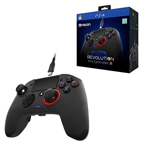 Nacon - Revolution Pro Controller 2, Versión Española (PS4)y, Color Negro