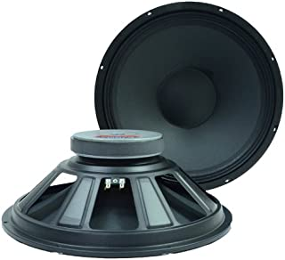 Seismic Audio Q 15 Pair 2 of 15-Inch Raw Speakers Woofers Replacement Pro Audio PA/DJ