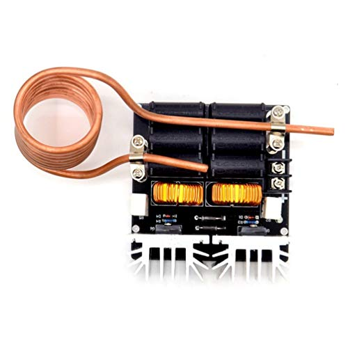 HETUI Low Zvs 12-48V 20A 1000W Módulo de máquina de Placa de Calentamiento por inducción de bajo Voltaje (Negro)