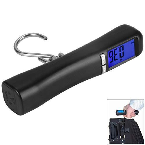FULANTE 1pc LCD backlight 40Kg digitale schaal, reizen draagbare bagage koffer bagage gewicht digitale weegschaal haak schaal