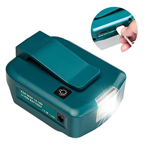 【12V出力搭載】マキタ USB アダプター 12V 出力 Makita LXT BL14 BL18 Li-ionバッテリー用 14-18V JPV059