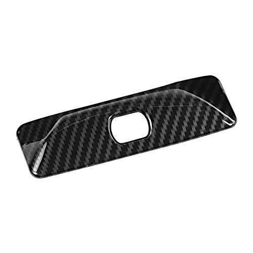 YFTGD Korean Pine Carbon Fibra Texture Electronic Handbrake P Button Four Fit para Mercedes Benz C-Class GLK W204 2009 2010 2011 2011 2012-2014