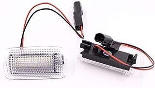 LED Courtesy Door Light For Toyota Land Cruiser/Prodo/Sequoia/MarkX/Camry/Highlander/Corolla/Prius/Previa/TUNDRA(white + Red LED)