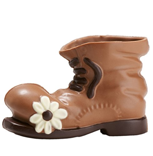 08#021721 Schokolade Wanderschuh, Wanderstiefel, Taufe, Geburt, Tortenverzierung, Hochzeit, Schokoladen, Torte