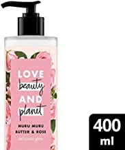 Love Beauty And Planet Body Lotion Murmuru Butter & Rose, 400ml