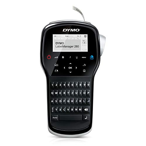 DYMO Label Maker | LabelManager 280 Rechargeable Portable Label Maker,...