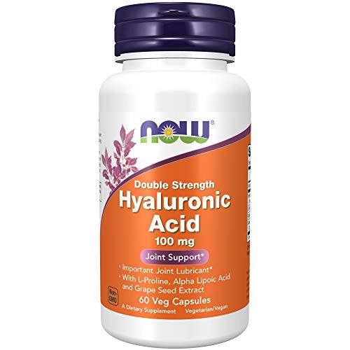 NOW Foods NF Hyaluronic Acid 100 mg, 60 vcapsules, 100 g