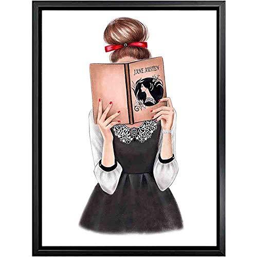 Puzzle 1000 pezzi Foto di arte in bianco e nero di ragazza moderna puzzle 1000 pezzi animali Puzzle giocattolo educativo per alleviare lo stress intellettuale50x75cm(20x30inch)
