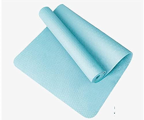 Esterilla De Yoga TPE La Esterilla De Fitness Más Gruesa Y Larga Es Adecuada para Yoga, Fitness, Pilates, Gimnasia Y Danza. (Color : C, Size : 183x61x0.8cm)