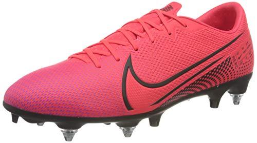 Nike Herren Vapor 13 Academy Sg-Pro Ac Fußballschuhe, Laser Crimson Black, 45.5 EU