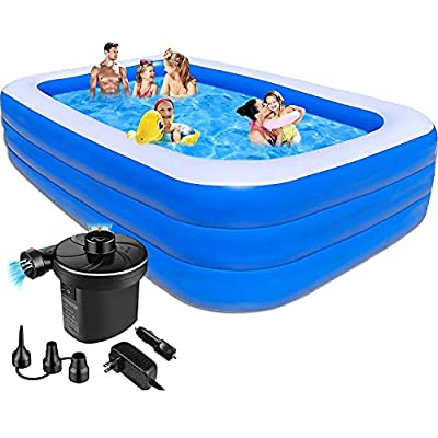 Inflatable Swimming Pool for Kids 12FT - 141&#3...