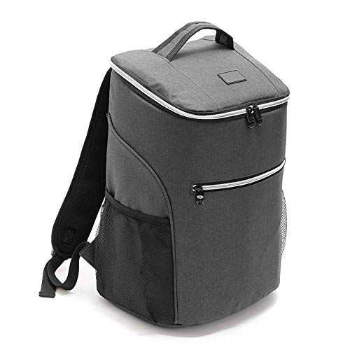 Aluminum Foil Insulation Bag, Solid Color Large-Capacity Waterproof Outdoor Picnic Bag, One-Shoulder Portable Ice Bag
