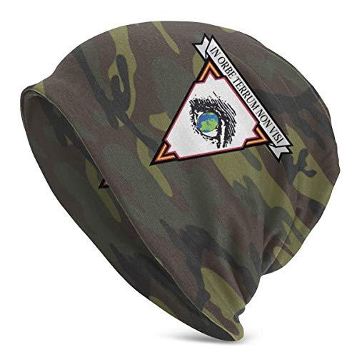 sky-yb Unidades de reconocimiento de Largo Alcance en Orbe Terrum Non Visi Unisex Warm Hat Knit Hat Skull Cap Gorros Cap