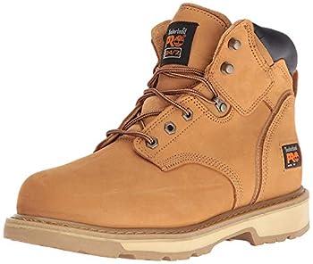 Timberland PRO Men s Pitboss 6  Steel-Toe Boot Wheat  10.5 EE - Wide