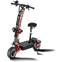 GUNAI Scooter Eléctrico Todoterreno 11 Pulgadas Off-Road 5600W Motor Dual Velocidad Máxima 85 km/h con Batería de Litio 60V 30AH