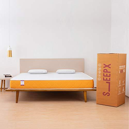 SleepX Dual Comfort 5-inch Medium Queen Size Mattress (78*60*5 Inches_Foam)
