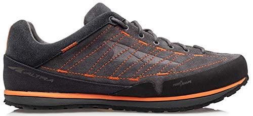ALTRA Men's ALM1965F Grafton Outdoor Running Shoe, Black/Orange - 9.5 M US