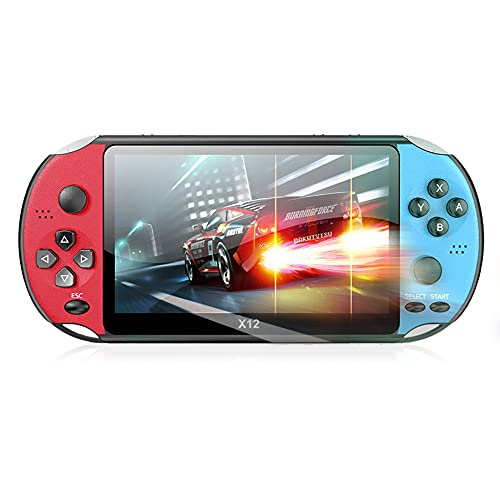 CredevZone X12 Handheld Game Console 5.1 inch Retro Video Games Consoles Built-in 900 Classic Games...