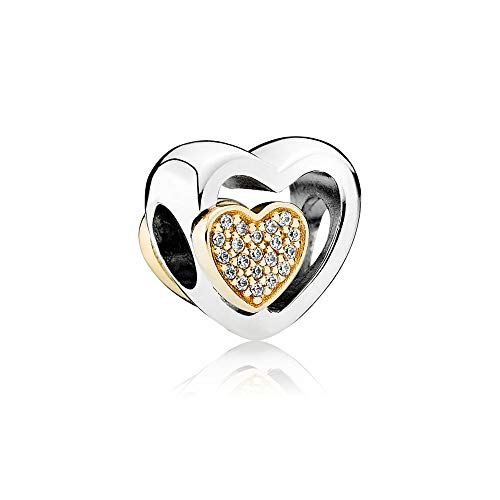 Pandora Damen-Bead Charms 925 Sterlingsilber 791806CZ