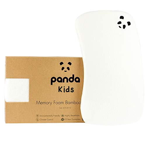 Panda Kids Memory Foam Bamboo Pillow (Toddler)