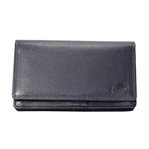 Arrigo Unisex-Adult 01C-301R-RFID Harmonica Wallet, Donkerblauw, Large