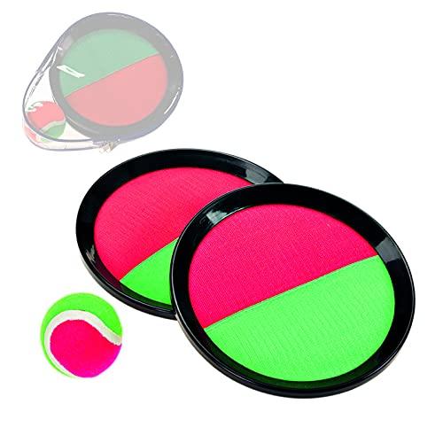 Smart Planet-Pelota de Velcro para Jugar en la Playa  Multicolor MUEL-332533-NEU