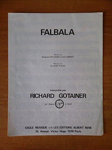 FALBALA partition RICHARD GOTAINER