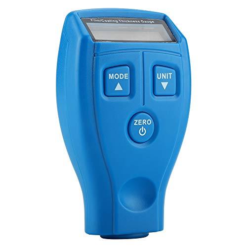 Medidor Digital de Espesor de Recubrimiento de Pintura, medidor de Espesor de recubrimientos de Mano Detector de Espesor de Recubrimiento de Pintura de Coche LCD