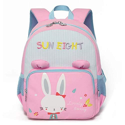 PROTAURI Kindergarten Rucksack,Kinderrucksack Animal Schule Tasche Rucksack for Kinder Baby Jungen Mädchen 2-6 Jahre