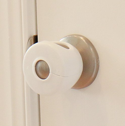 Door Knob Covers - 2 Pack - Child Safety Cover - Child Proof Doors by Jool Baby