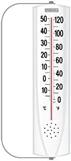 Springfield Indoor/Outdoor Vertical Thermometer with Mounting Bracket (8.75-Inch)